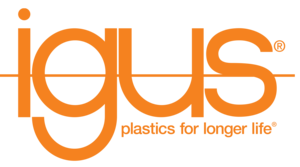 igus orange logo plastics for longer life